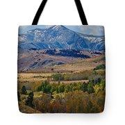 Sierras Mountains Tote Bag