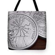 Silver Bullion Debt And Death Tote Bag by Tom Mc Nemar