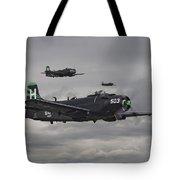 Skyraiders - Va155 Tote Bag