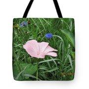 Softly Single New Pink Bloom Tote Bag