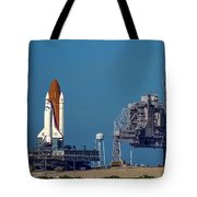 Space Shuttle Roll-around Tote Bag