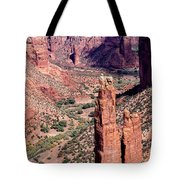 Spider Rock In Canyon De Chelly Tote Bag