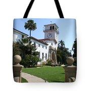 Santa Barbara Courthouse Tote Bag