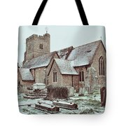 St Mary And All Saints Boxley Tote Bag