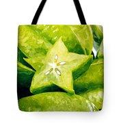 Star Fruit Carambola Tote Bag
