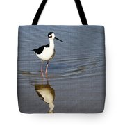 Stilt Looking At Me Tote Bag