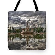 Stone Flower Moscow Tote Bag