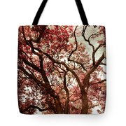 Strawberry Leaves  Tote Bag