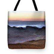 Sunrise At Haleakala Crater, Maui Tote Bag