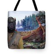 Swedish Lapphund Art Canvas Print  Tote Bag
