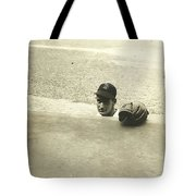 Ted Williams Tote Bag by Diane Diederich