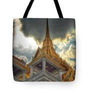 Temple Roof Tote Bag