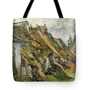 Thatched Cottages In Chaponval Tote Bag
