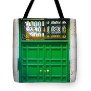 The Doors Of Madrid Spain Xii Tote Bag