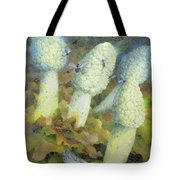 The Green Man With Fly Agaric Tote Bag