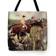 The Horse Race Tote Bag by Jean Louis Forain
