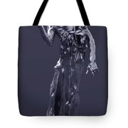 The Sculpture Of Auguste Rodin Tote Bag