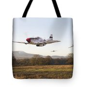 Through The Gap Tote Bag by Pat Speirs