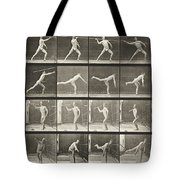 Throwing Spear Tote Bag