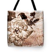 Thumbelina Rose - Miniature Rose - Digital Paint II Tote Bag
