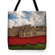 Tower Of London Remembers.  Tote Bag