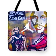 Truly Michael Jordan  Tote Bag