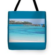 A Vision Of Turtle Bay, Bermuda Tote Bag