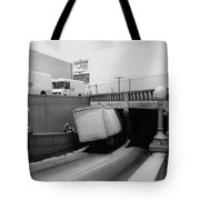 6th Street Underpass Truck Accident Tucson Arizona 1984 Tote Bag
