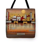 Urban Landscape Tote Bag