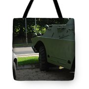 Vehicle Of The Future Tote Bag