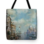 Venice At Noon Tote Bag