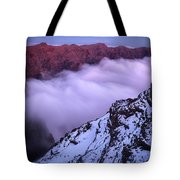 View Across The Caldera Taburiente Tote Bag
