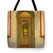 View Through The Passage Tote Bag