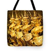 Wat Phra Kaeo Temple - Bangkok - Thailand.  Tote Bag