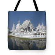 Wat Rong Khun Ubosot Dthcr0002 Tote Bag