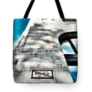 Way The Wind Blows - Four Season Hotel Budapest Hungary Tote Bag