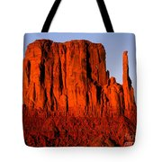 West Mitten Sunset Tote Bag