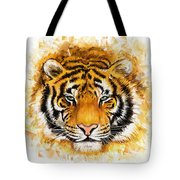 Wild Tiger Tote Bag