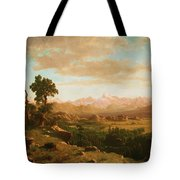 Wind River Country Tote Bag