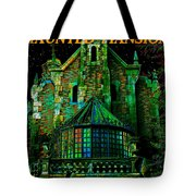 Haunted Mansion Poster Work A Tote Bag