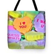 0004 Valentine Series Tote Bag