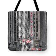 0007 Radio City Music Hall Tote Bag