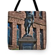 001 American Doughboy Over The Top To Victory Tote Bag