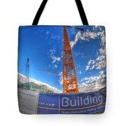 001 Building Buffalo  Tote Bag