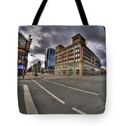001 Delaware And The Chipp Stripp Tote Bag
