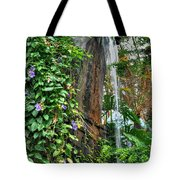 001 Falling Waters For The Cactus Lover In You Buffalo Botanical Gardens Series Tote Bag