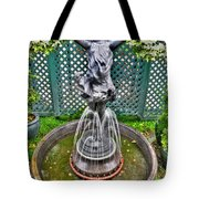 001 Fountain Buffalo Botanical Gardens Series Tote Bag