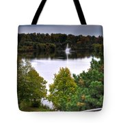 001 Hoyt Lake Autumn 2013 Tote Bag