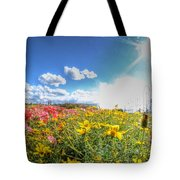 001 Niagara Falls Misty Blue Series Tote Bag