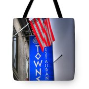 001 Towne Restaurant  Tote Bag
